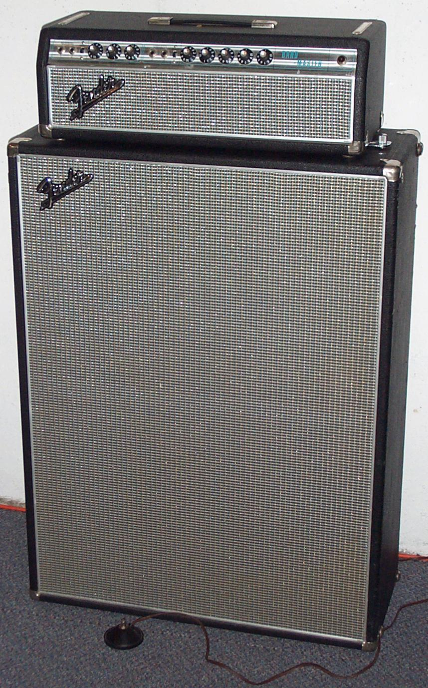 Ggjaguar S Guitarium And Ampeteria 1968 Fender Bandmaster